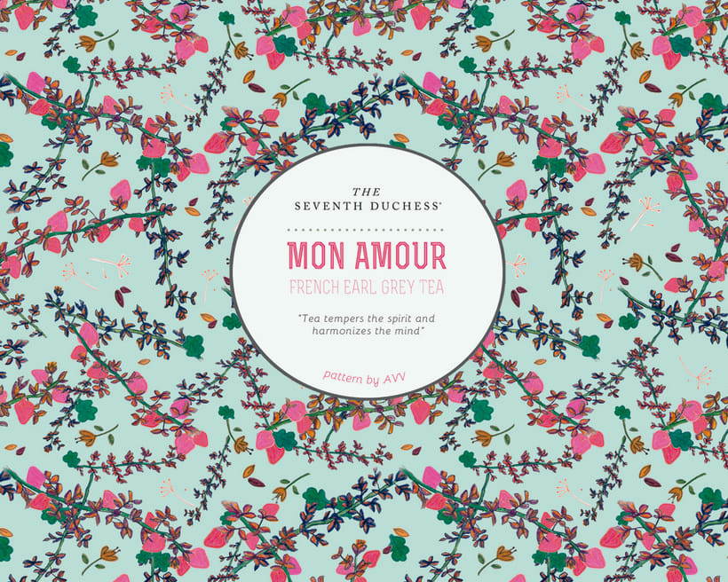 Mon Amour- Pattern para The Seventh Duchess 2