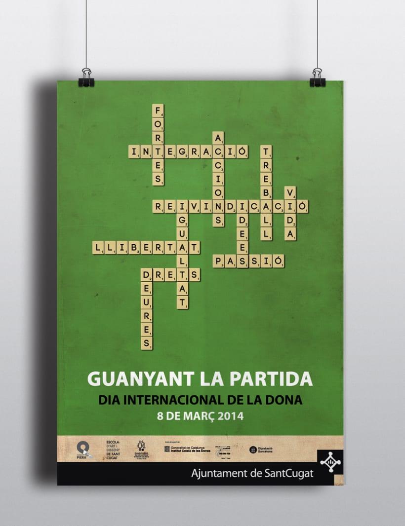 Cartell Dia Internacional de la Dona (2014) 1