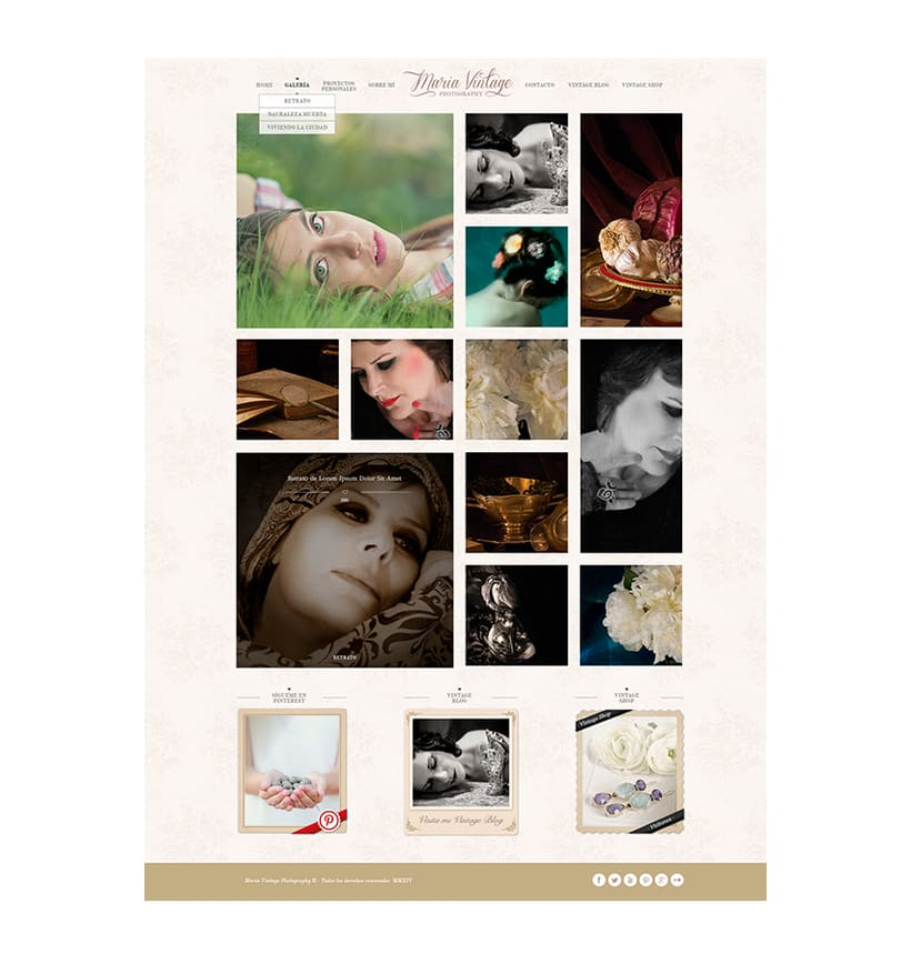 Maria Vintage's · New Blog / Website 1