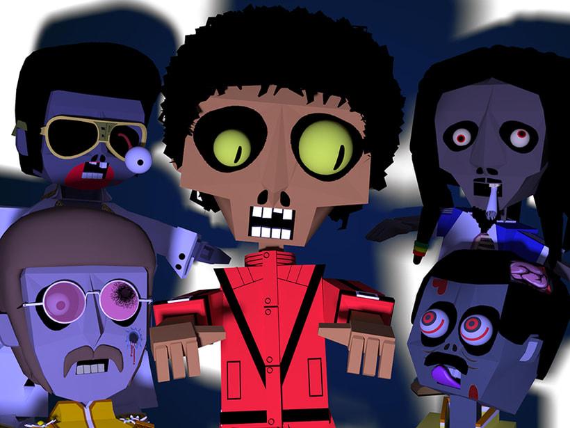 Zombie Rockstars 3
