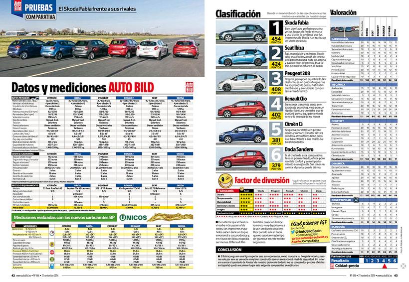 Revista AUTO BILD. 6