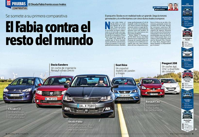 Revista AUTO BILD. 4