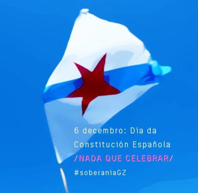 \ Nada que celebrar \ 6 de decembro, día da Constitución española \ 1