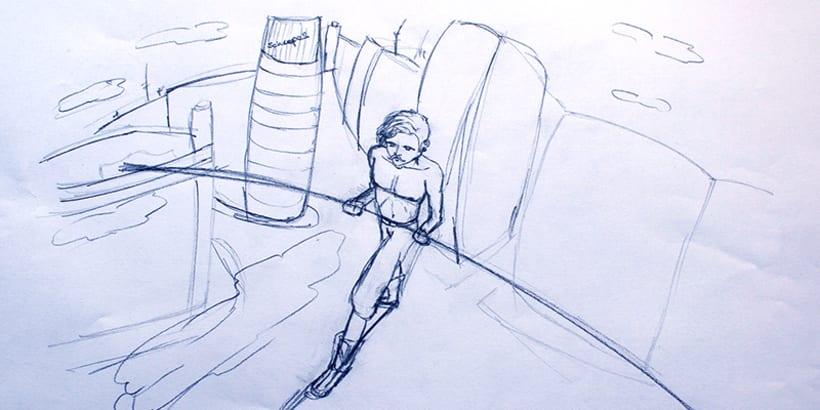 Ilustración- Funambulista 3