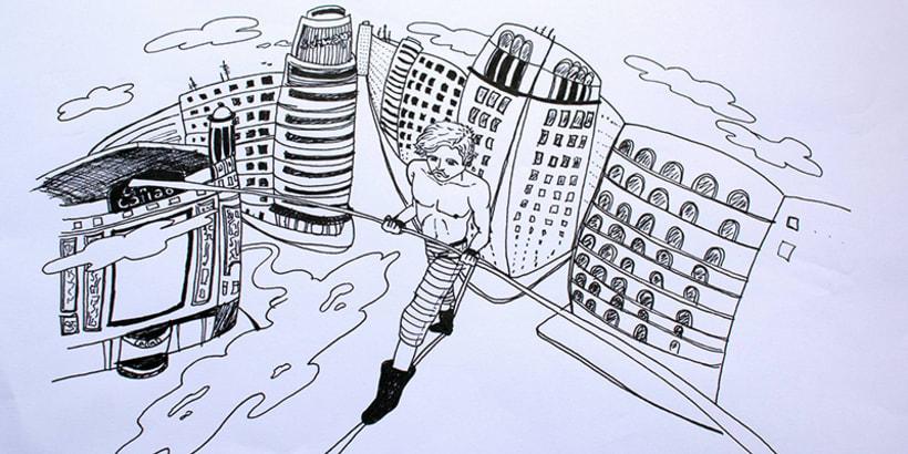 Ilustración- Funambulista 1