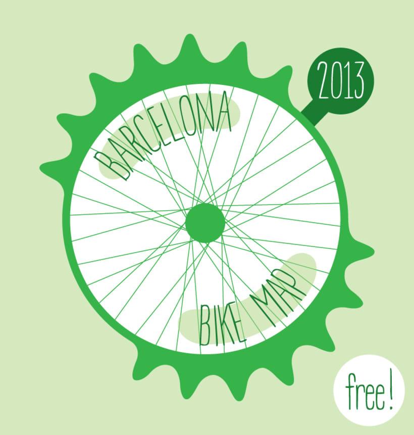 Barcelona Bike Map Domestika
