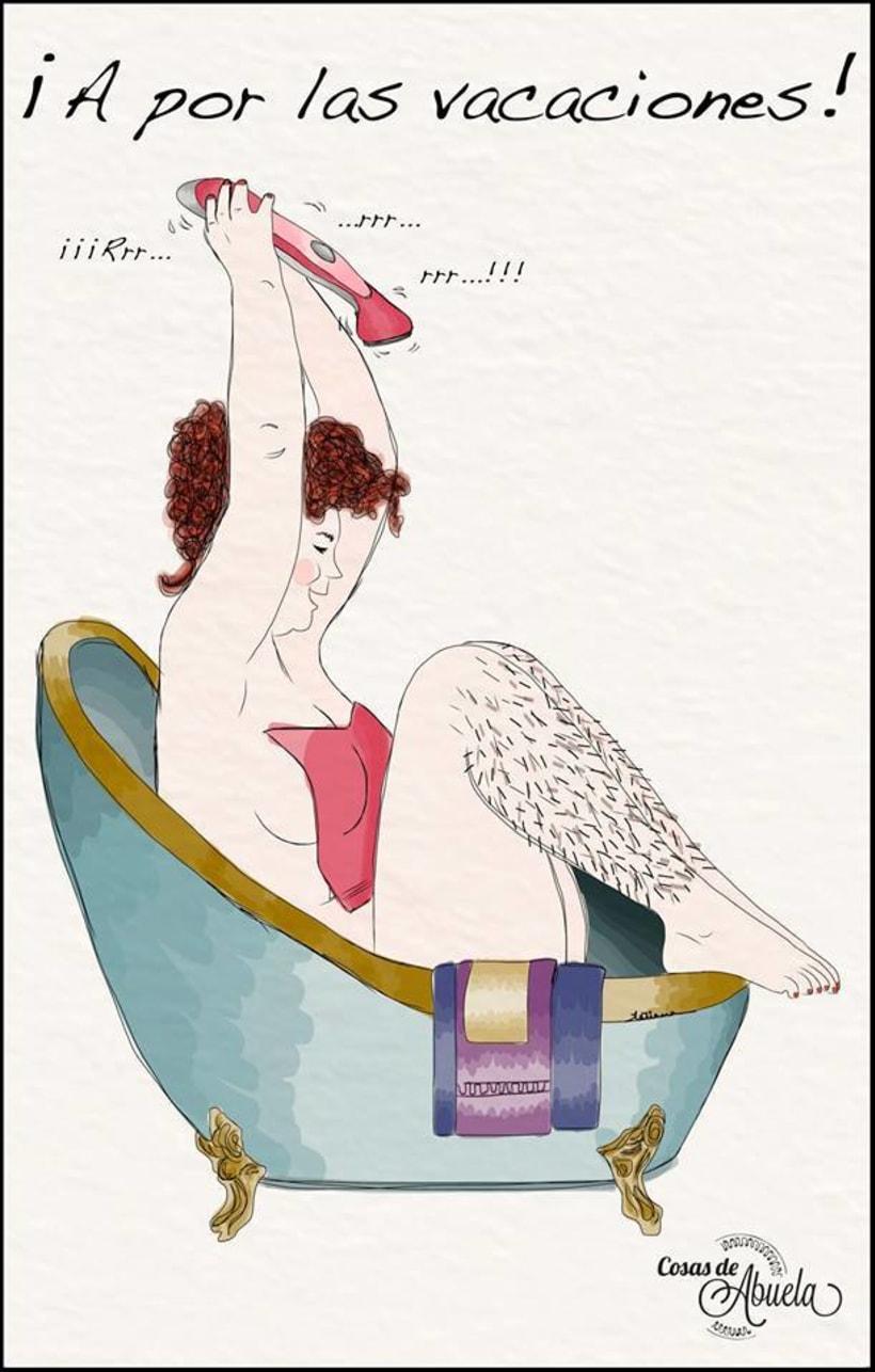 Ilustraciones de abuela 1