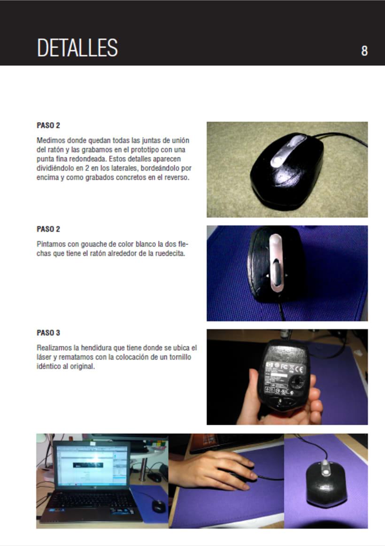Prototipo de un Ratón de Ordenador 6