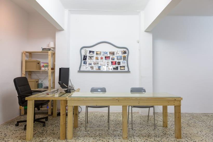 Espacio Coworking con estudio fotográfico en Barcelona 1