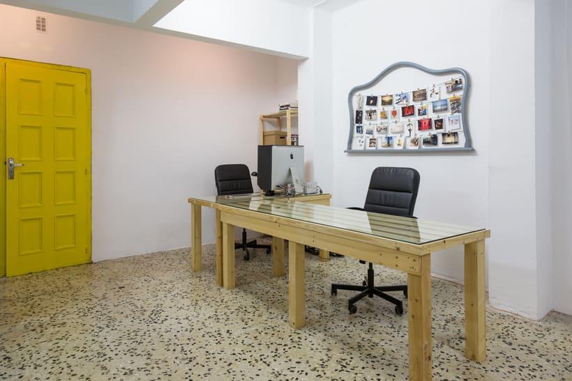 Espacio Coworking con estudio fotográfico en Barcelona 2
