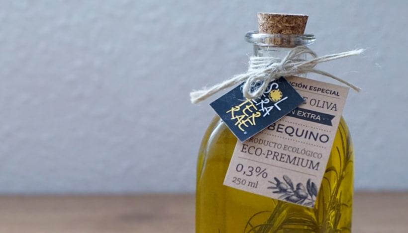 Diseño de etiqueta para packaging - Solera Terraeecto 2