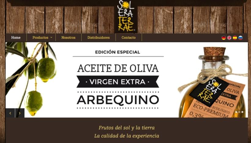 Diseño de etiqueta para packaging - Solera Terraeecto 5