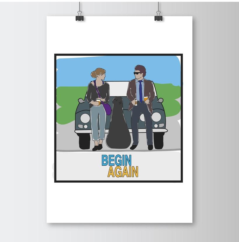 """Ilustración """"Begin Again"""" -1"""