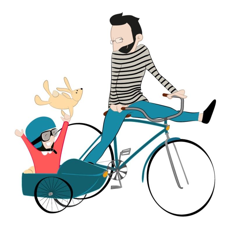 Ilustración para el día del padre -1