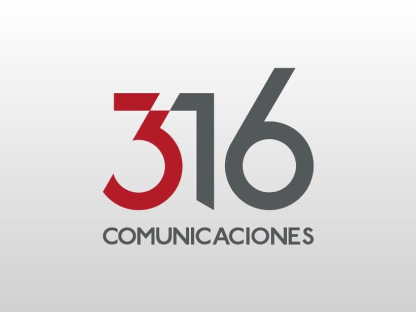 316 Comunicaciones | logotipo 0