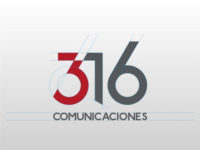 316 Comunicaciones | logotipo 2