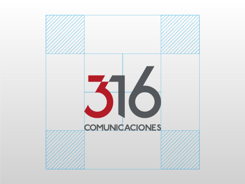 316 Comunicaciones | logotipo 3