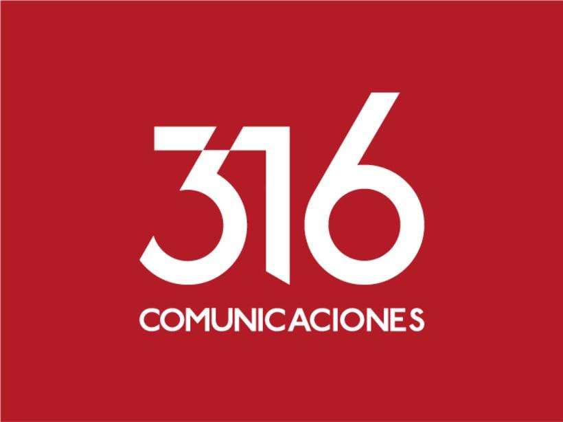 316 Comunicaciones | logotipo 4