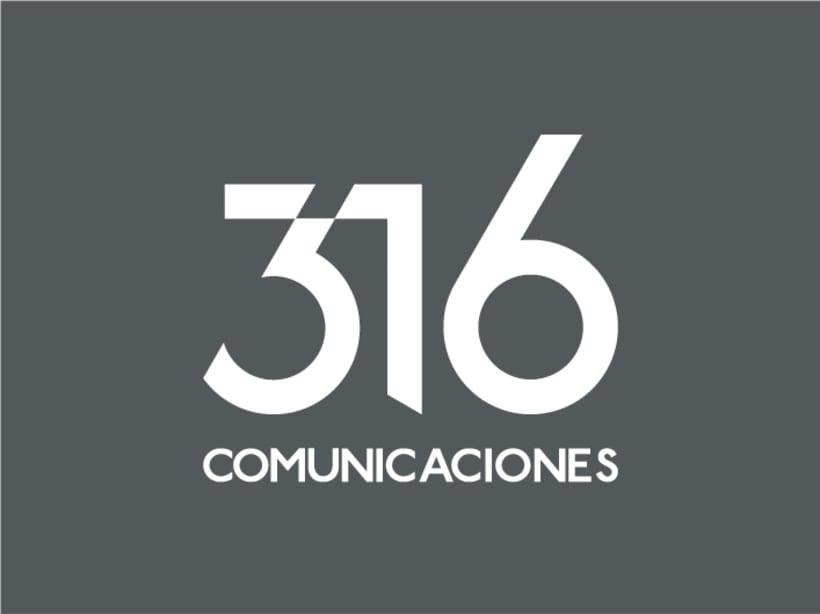 316 Comunicaciones | logotipo 5