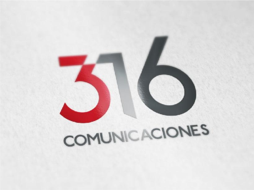 316 Comunicaciones | logotipo 8