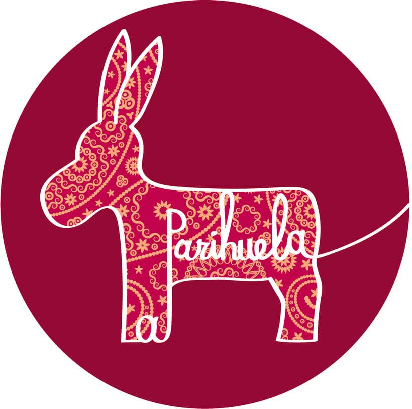 Diseño de logo para la empresa La Parihuela 0