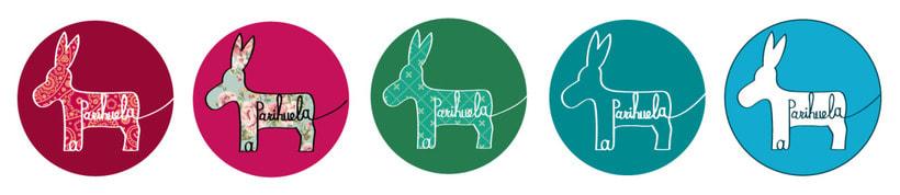 Diseño de logo para la empresa La Parihuela 1