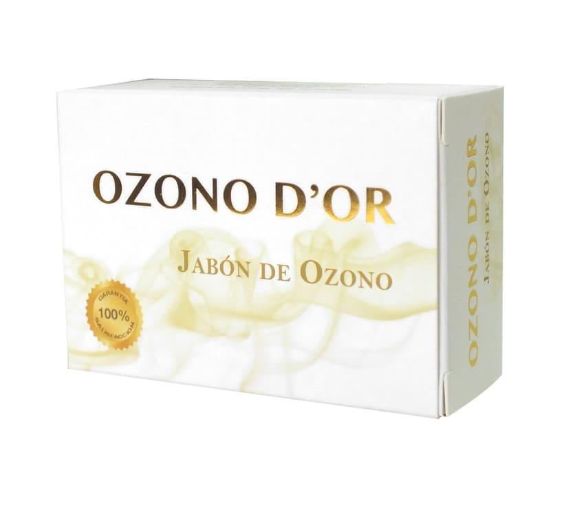 Packaging de Cosméticos para Ozono D'Or 1