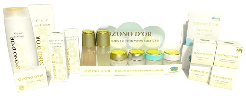 Packaging de Cosméticos para Ozono D'Or 8