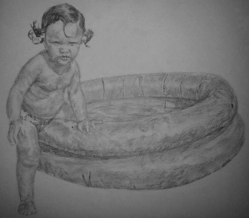 Baby in water -1