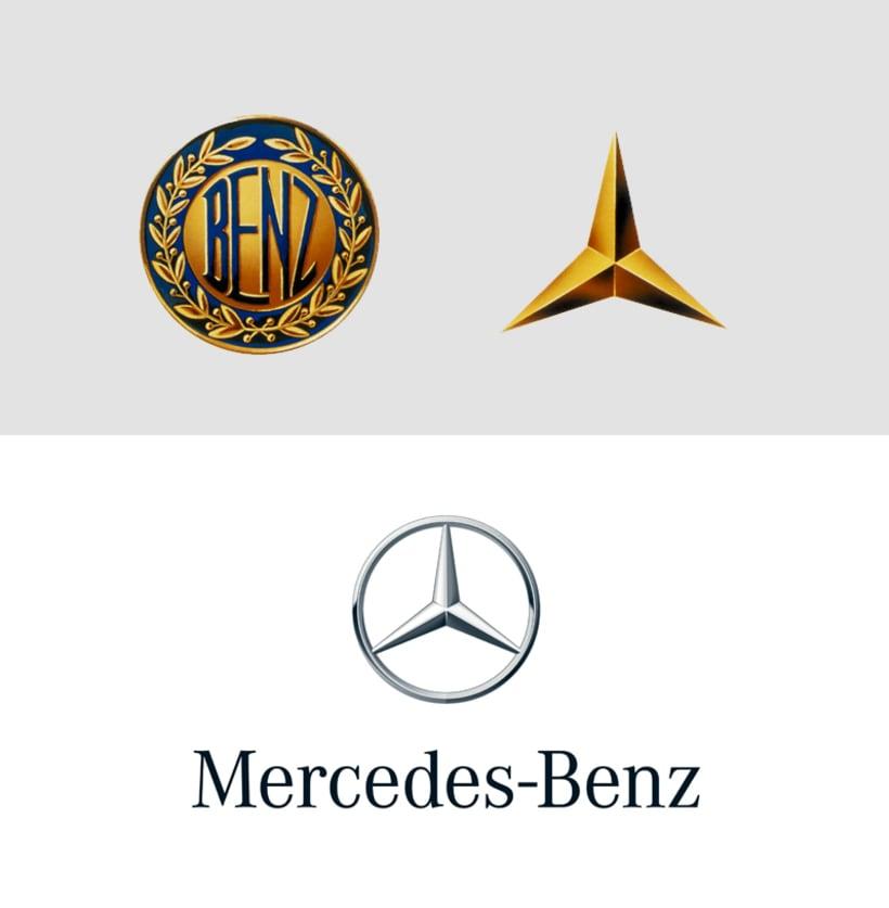 Los efectos para modernizar los logotipos de automóviles 3