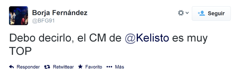 Community manager en Kelisto: Feedback de usuarios 1