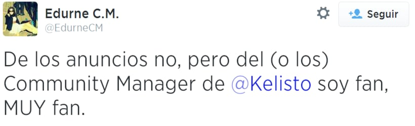 Community manager en Kelisto: Feedback de usuarios 6