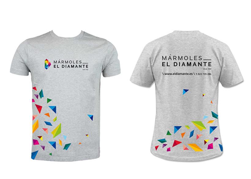 Identidad corporativa Mármoles El Diamante 4