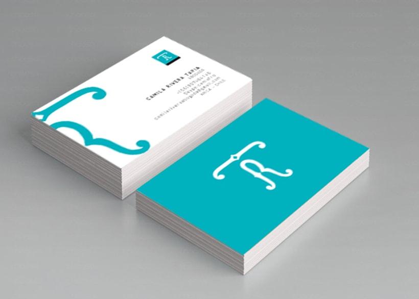 Diseño de Logotipo y tarjeta de visita 0