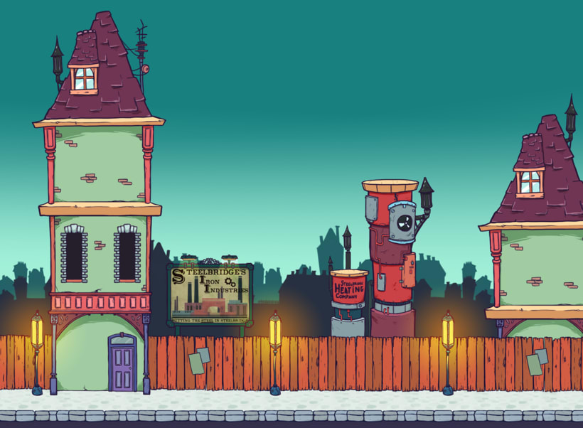 Izzy's Revenge - 2D video game project 3