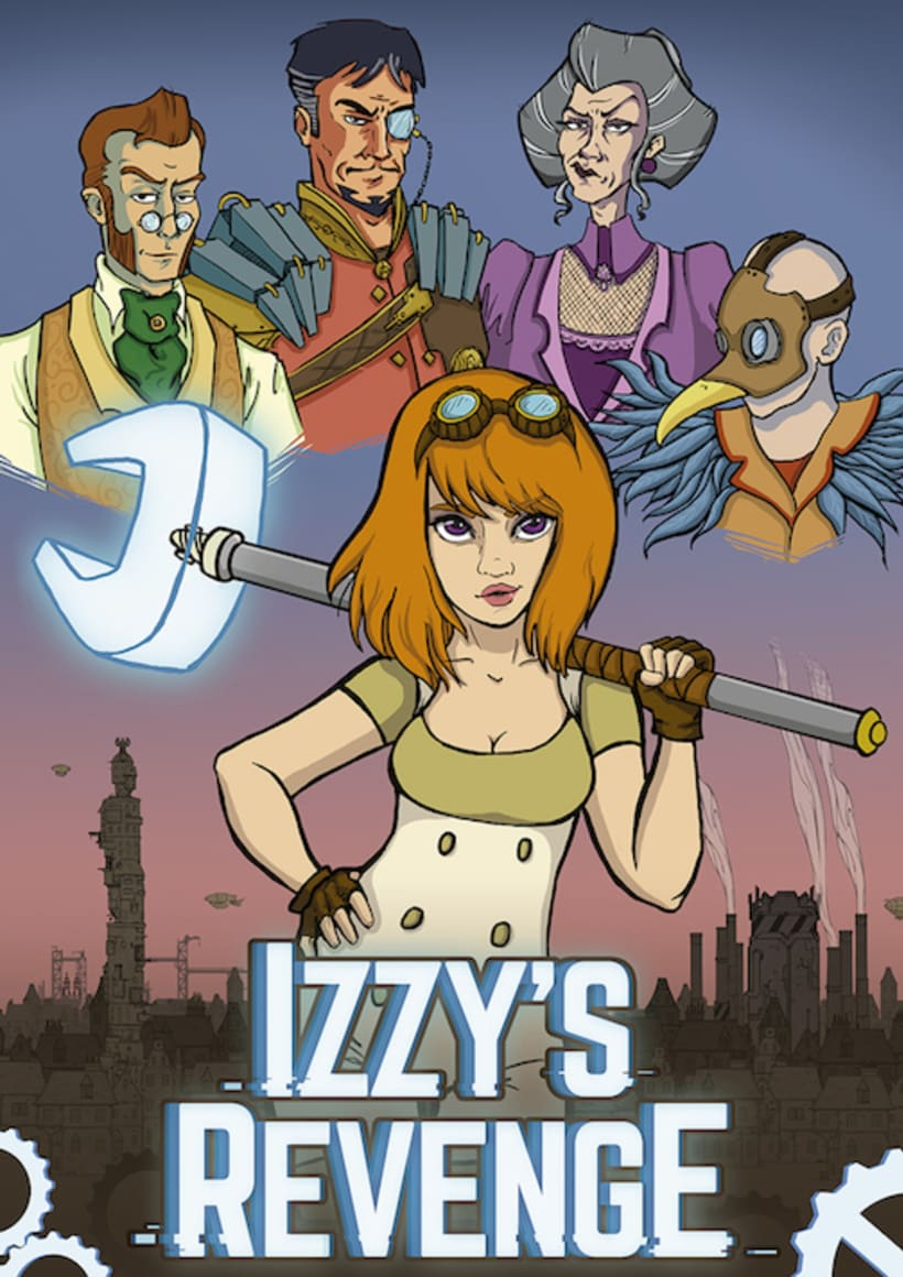 Izzy's Revenge - 2D video game project 17