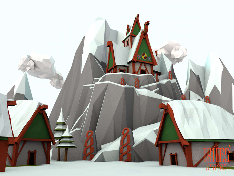 Tribes³ - 3D low poly landscapes 1