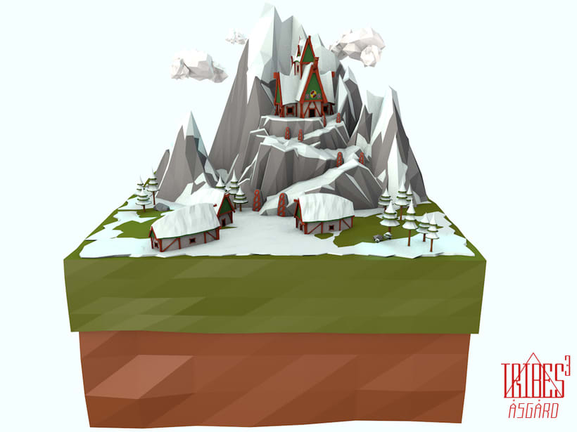 Tribes³ - 3D low poly landscapes 3