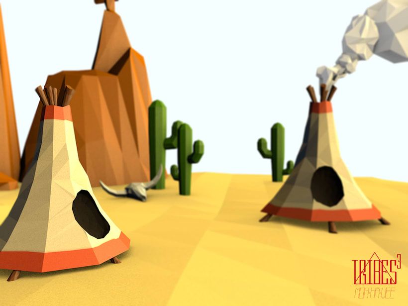 Tribes³ - 3D low poly landscapes 5