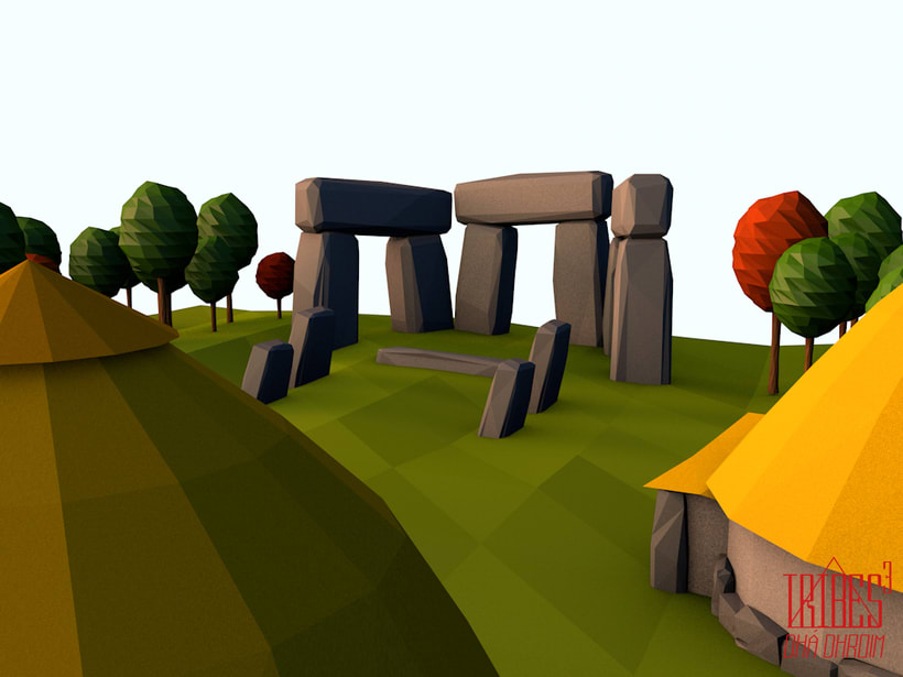 Tribes³ - 3D low poly landscapes 9