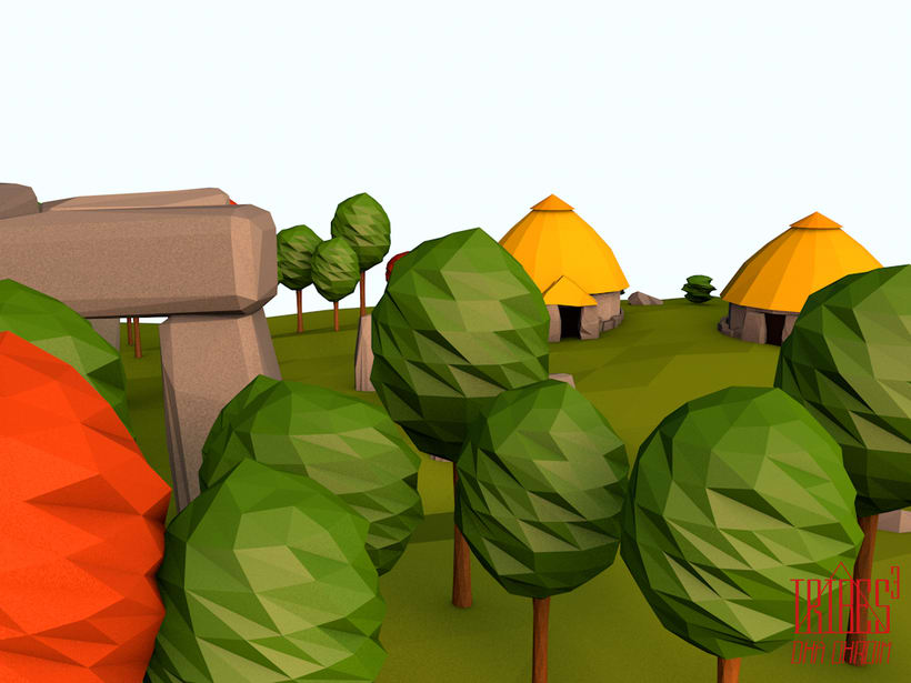 Tribes³ - 3D low poly landscapes 10