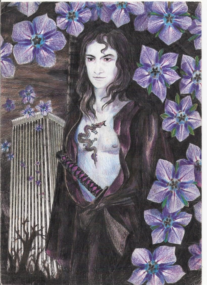 Mis primeras ilustraciones por libre a los 16 años 4