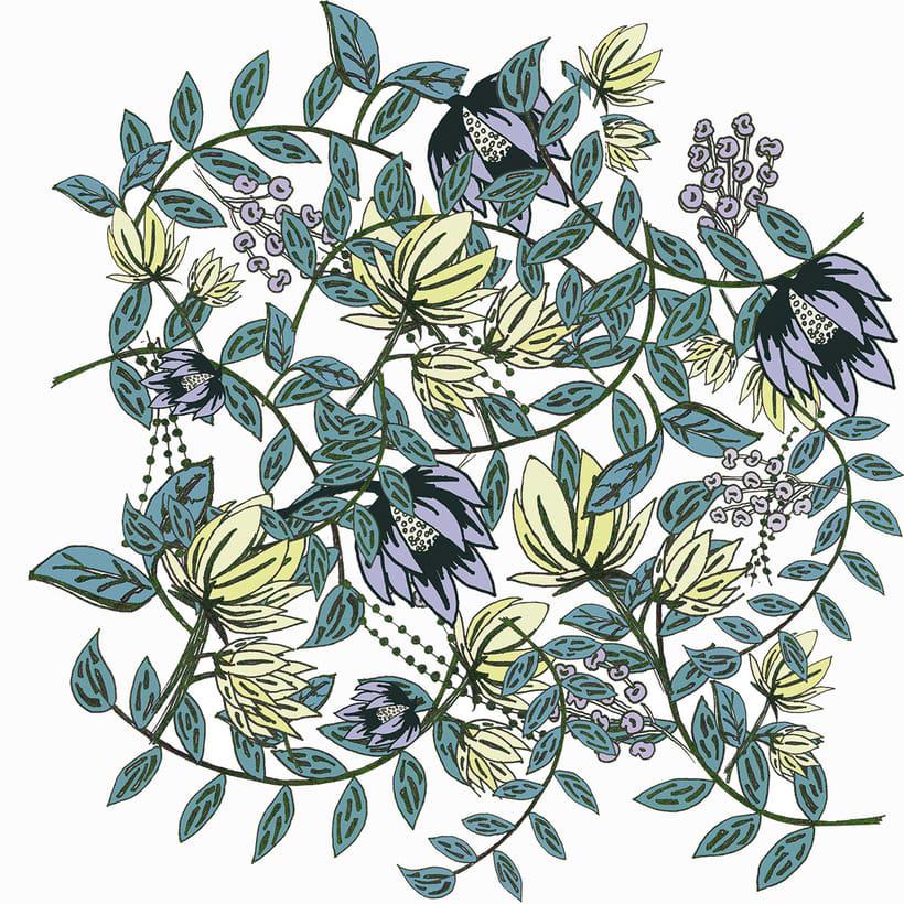Botánica/ PATTERN 2