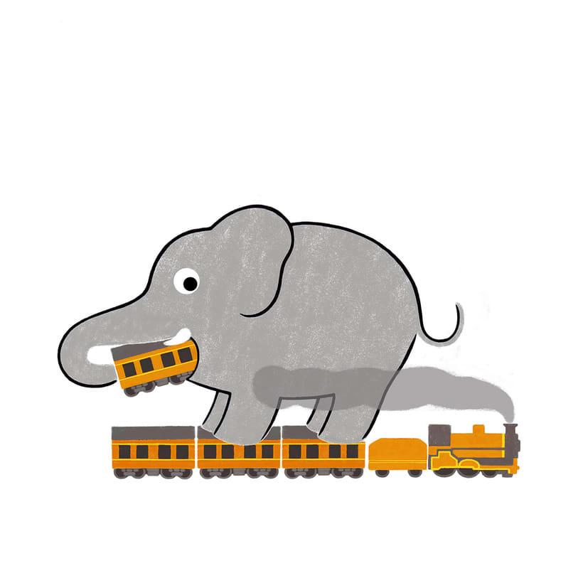 The big elephant -1