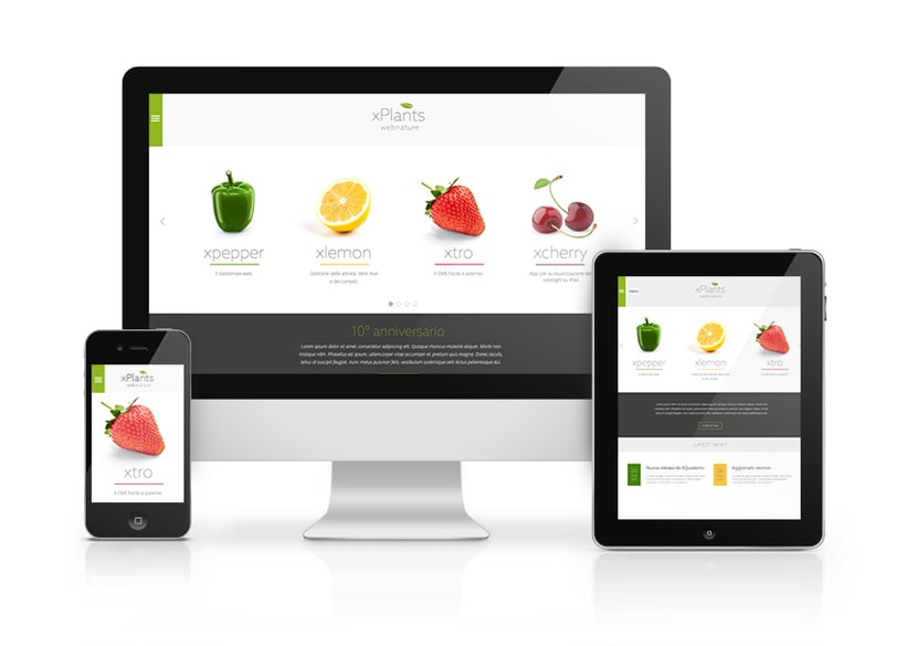 Xplants: new corporate identity and web site 0