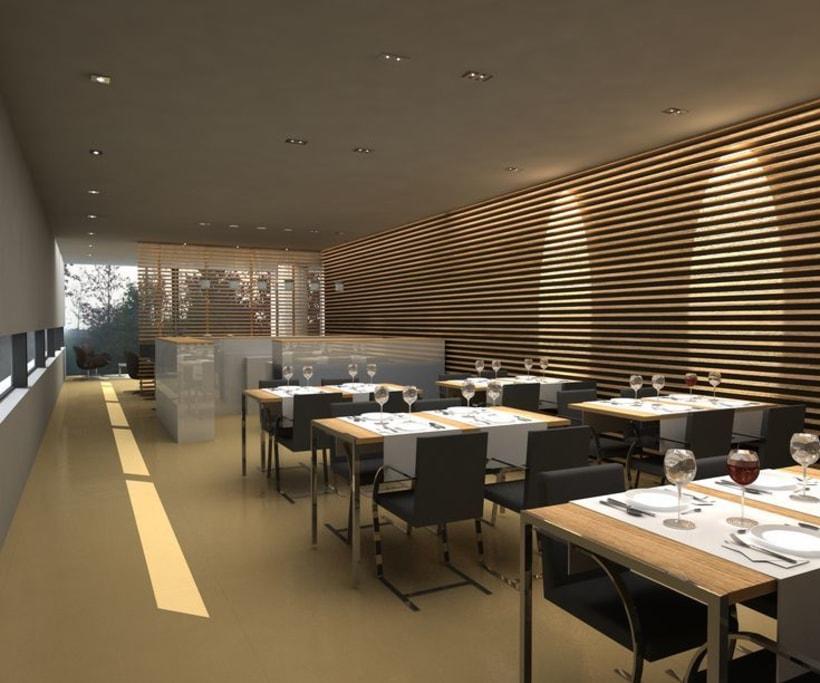 Cafeteria, bar, restaurante 1