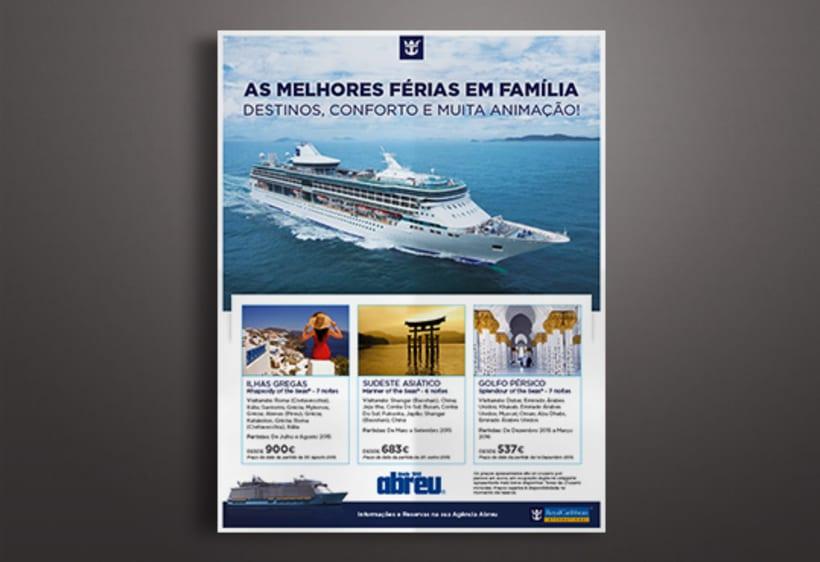 Publicidades para Melair Cruzeiros 1