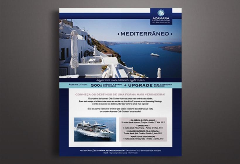 Publicidades para Melair Cruzeiros 5