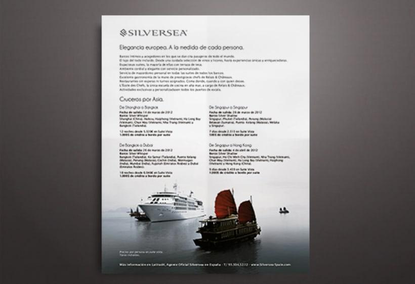 Publicidades para diferentes navieras de lujo 6