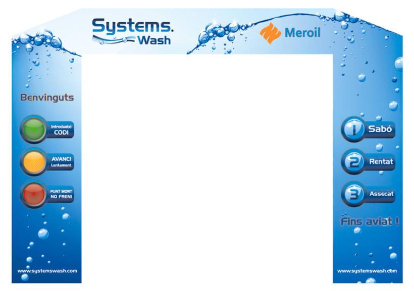 Diseño para tunel de lavado Systems Wash 0